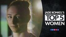 Top five Women's Rugby World Cup players   Jade Konkel