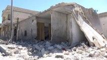 İdlib)- İdlib Kan Ağlıyor- Kimyasal Saldırıdan Yaralı Kurtulan Suriyeliler Yaşadıkları Dehşet...