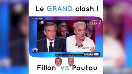Le grand clash - Fillon VS Poutou