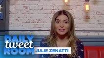 """Julie Zenatti : """" Avec cet album j'avais envie de faire danser ma fille, ma mère et ma grand-mère."""" - #DailyTweetRoom"""