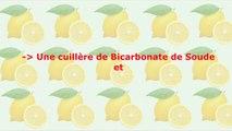 Blanchir les Dents _ Bicarbonate et Citron _ Recette Maison contre les Dents Jaunes-vNM1ggL