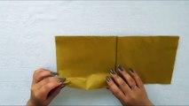 Swan Napkin Folding - How to Make a Swan Napkin - Easy Tutorial-4v7h5Z0
