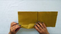 Swan Napkin Folding - How to Make a Swan Napkin - Easy Tutorial-4v7h5
