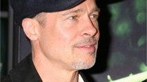 Brad Pitt Makes Rare Hollywood Appearance