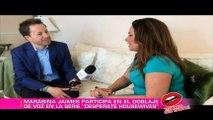 Marabina Jaimes actriz de voz mexicana estuvo en entrevista en ¡Tenemos Que hablar!