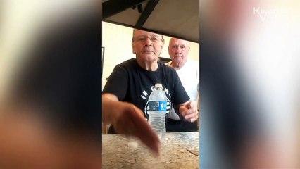 Anciana le Hace BROMA a su Esposo