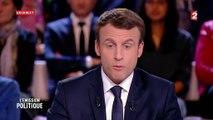 """""""Pardon de vous le dire"""" : le tic de langage répété 16 fois par Emmanuel Macron à L'Emission politique"""