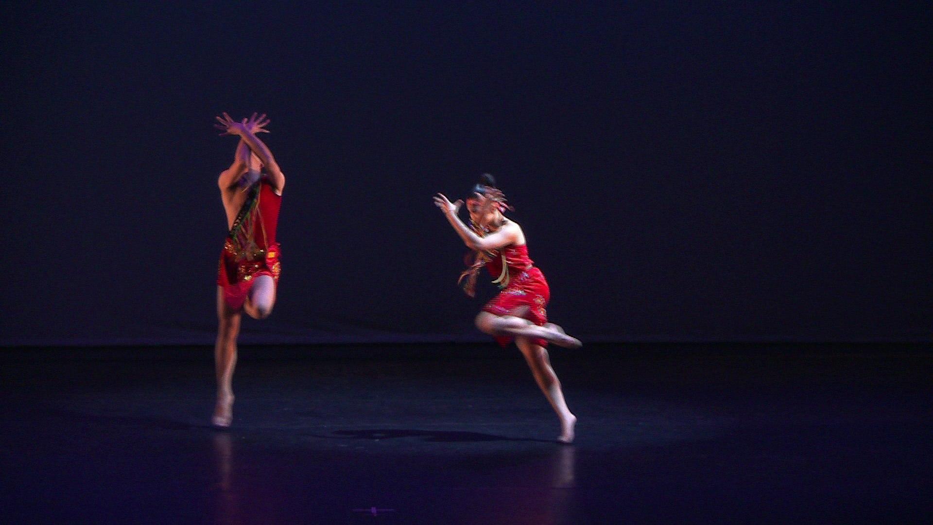 Tiểu nữ - Tiết mục múa vô cùng sexy - sinh viên Cao đẳng Múa Việt Nam