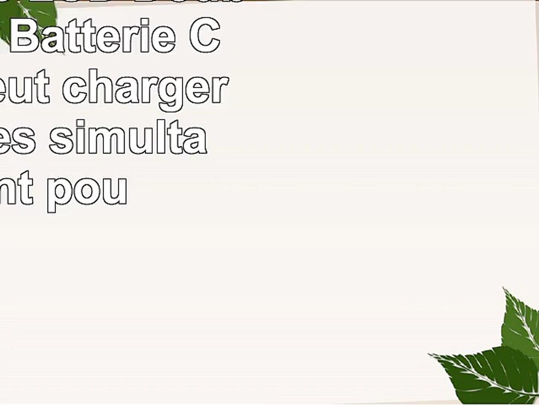 Invero LPE6 LCD Double Caméra Batterie Chargeur peut charger 2 Batteries simultanément