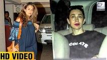 Karisma & Amrita MEET Kareena Kapoor & Taimur Ali Khan
