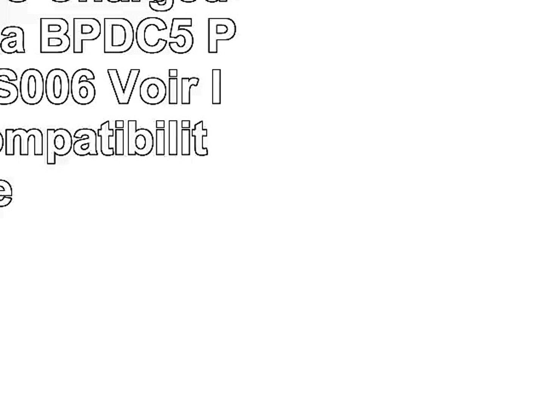 2x Batteries  Chargeur pour Leica BPDC5  Panasonic S006  Voir liste de compatibilité