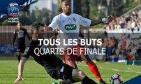 Coupe de France, quarts de finale : tous les buts
