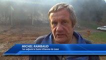 Haute-Alpes : une ferme détruite par les flammes la nuit dernière près de Notre Dame du Laus