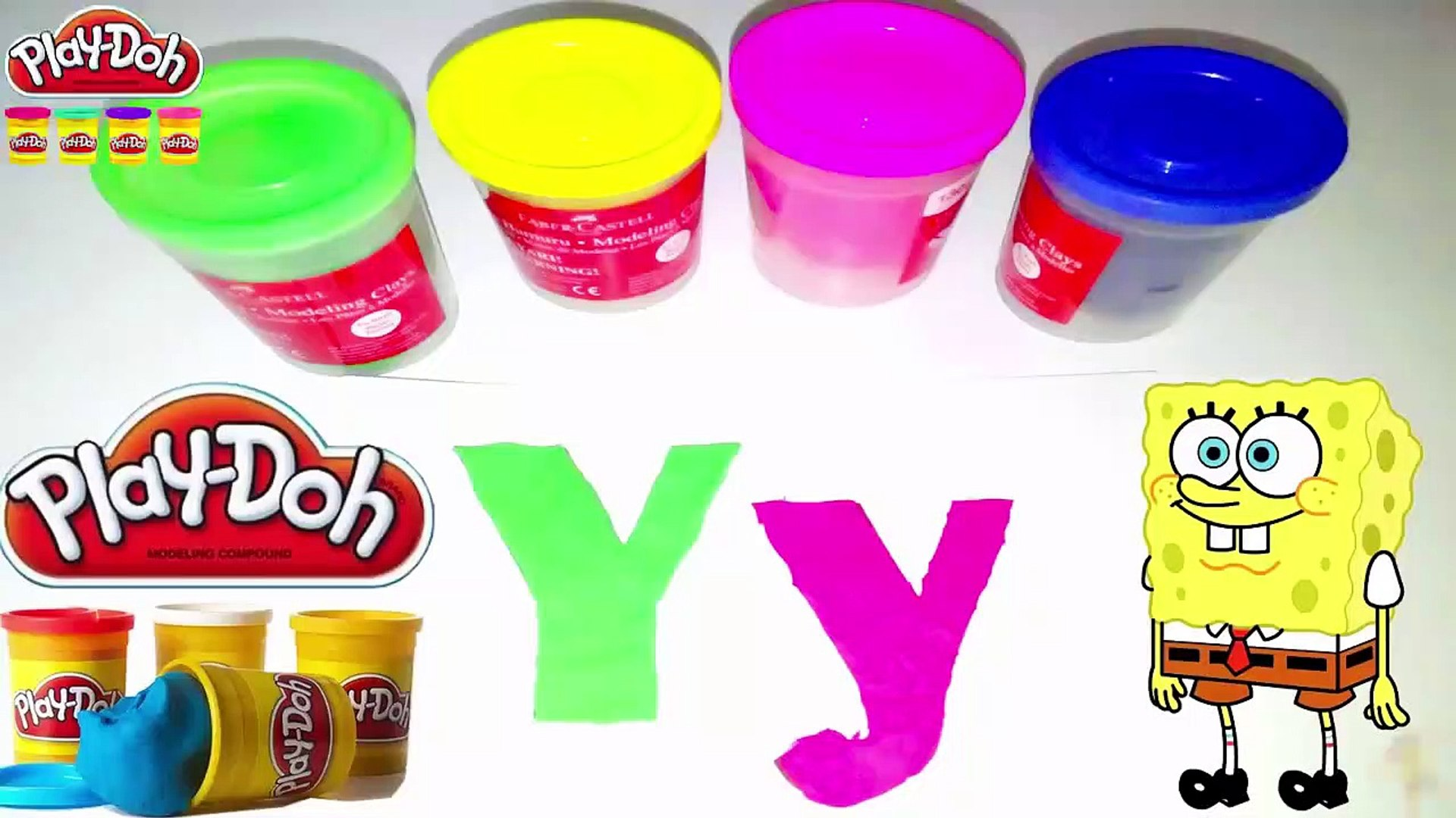 ABC Play Doh, Letters 'yphabert with Spo