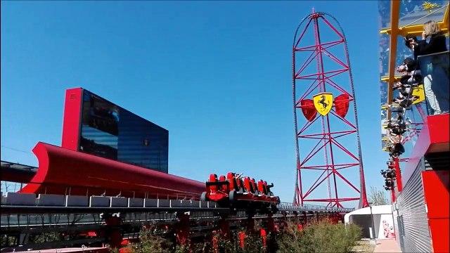 Ferrari Land à PortAventura, le nouveau parc d'attractions espagnol