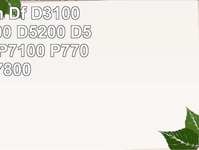 2x Batteries ENEL14 pour Nikon Df D3100 D3200 D5100 D5200 D5300 P7000 P7100 P7700 P7800
