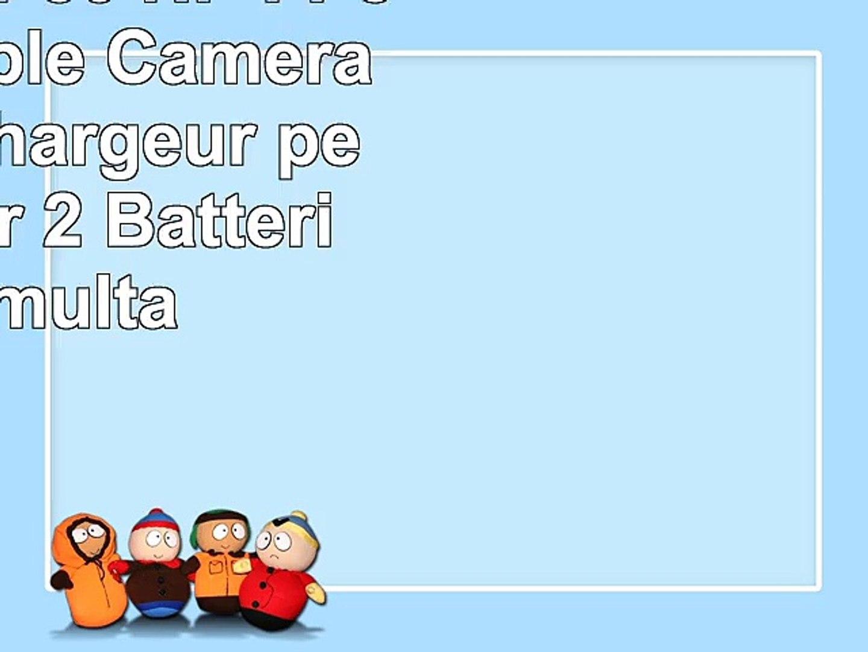 Invero NPFP50 NP FP50 LCD Double Caméra Batterie Chargeur peut charger 2 Batteries