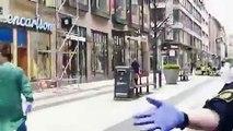 Suède: Une camionnette renverse des passants à Stockholm - Les 1ères images