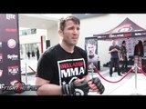 Chael Sonnen 'I will be fighting Wanderlei Silva the next time I see Wanderlei Silva!""