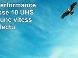 PNY Carte mémoire SDHC Turbo Performance 16 Go Classe 10 UHS1 U1 avec une vitesse de