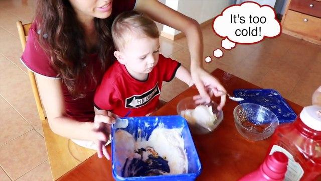 FOOD PRANK! MOM PRANK KIDS TRICK Gross Food Ice Cream Funny Ideas April Fools Joke Kids Videos