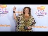 Abby Lee Miller 2017 Kids' Choice Awards Orange Carpet