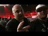 Joe Smith Jr. 's team & family react to Joe Smith Jr. getting a TKO win over Bernard Hopkins