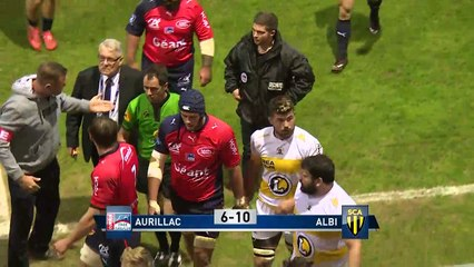 J27 Résumé Stade Aurillacois - SC Albi - PRO D2 - Saison 2016-2017