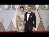 Jessica Biel and Justin Timberlake 2017 Oscars Red Carpet