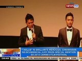 NTG: 'Taklub' ni Brillante Mendoza, ginawaran sa 2015 Cannes Film Festival