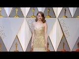 Emma Stone 2017 Oscars Red Carpet