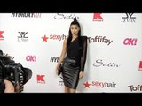 Nicole Williams 2017 OK! Pre-Oscar Party Red Carpet