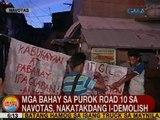UB: Mga bahay sa Purok Road 10 sa Navotas, nakatadang i-demolish
