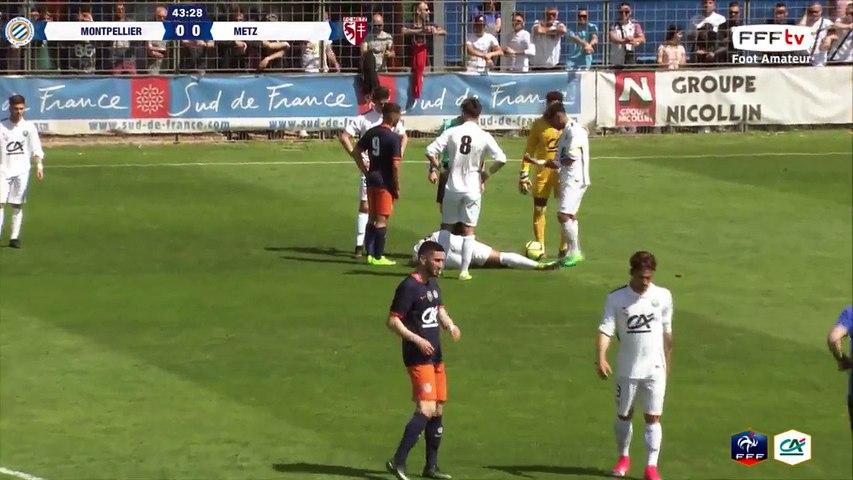 Samedi 08/04/2017 à 13h45 - Montpellier HSC - FC Metz - Coupe Gambardella Crédit Agricole - Quarts de finale (2)
