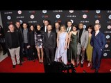 "FX's ""Legion"" Premiere Dan Stevens, Aubrey Plaza, Rachel Keller Red Carpet Arrivals"