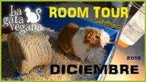 ROOM TOUR CASA DE MI COBAYA HIDEKI  DICIEMBRE 2015 | TENEMOS NUEVA JAULA