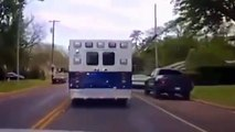 Teen Steals Ambulance For Fun, Ends Up In A High Speed Speed Police Chase