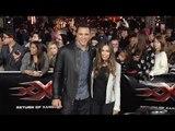 "Tony Gonzalez and October Gonzalez ""xXx: Return of Xander Cage"" Los Angeles Premiere"