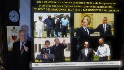 Asselineau : Les politiques sont tous des marionnettes