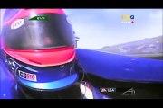 A1GP Laguna Seca 2005 2006 Race 1 Fittipaldi (Brazil) hits Verstappen (Nederland)