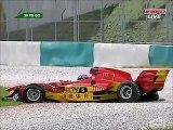 A1GP Sepang 2005 2006 Race 2 Huge crash Jiang (China) flip