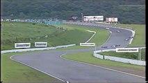 Formula Nippon Fuji Rd 7 Hoshino spins (Funny Japanese commentary)
