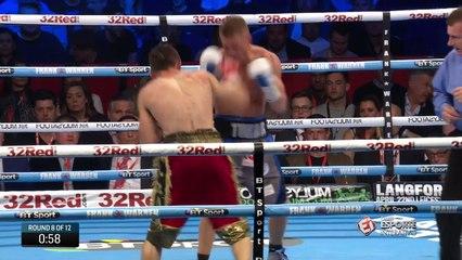 Terry Flanagan é campeão mundial de Boxe