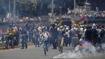 Az ellenzék vezére mellett tüntettek tízezrek Caracasban