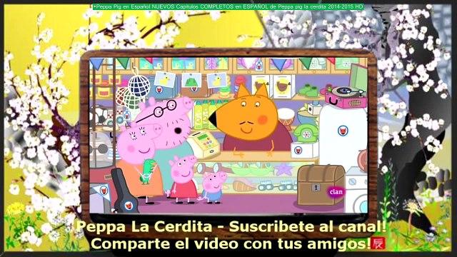 ►Peppa Pig en Español NUEVOS Capitulos COMPLETOS en ESPAÑOL de Peppa pig la cerdita 2014-2015 HD