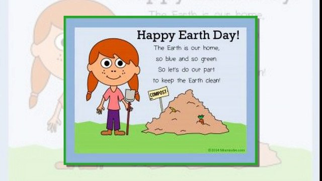 Amazing Earth Day Poems for Kids on Earth Day 2017 - Earth Day Poems