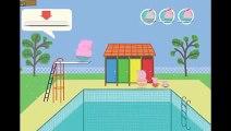 Peppa Pig En Español Dibujos animado Peppa la Cerdita mundo piscina video juego Peppa Pig HD