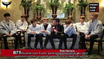 BTS - FRONT ROW  LİVE Röportaj [Turkish sub]