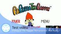Test vidéo - PaRappa The Rapper Remastered (Le Grand Retour sur PS4 ?)