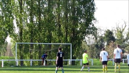 Penalty Guillaume M. - Championnat - Québriac ES / US Le Crouais 2-1